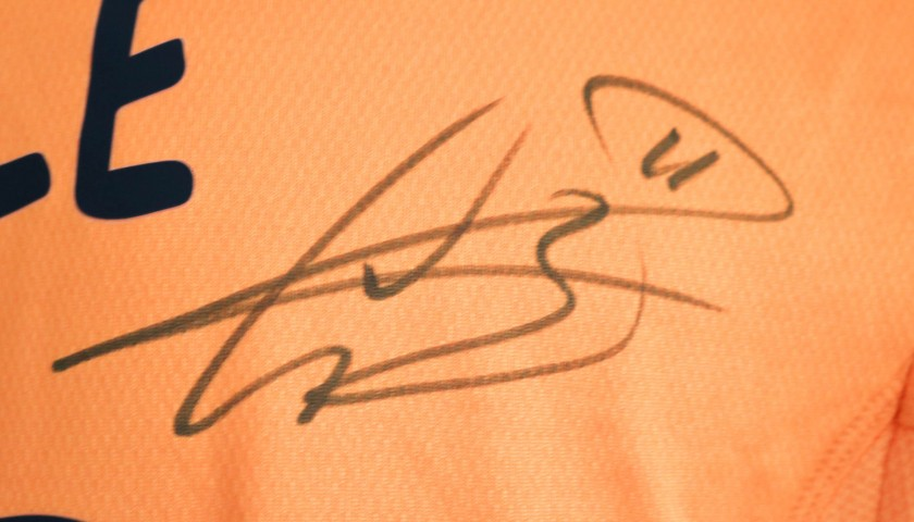 Bale's Match-Issue Signed Shirt, Juventus-Real Madrid 2014