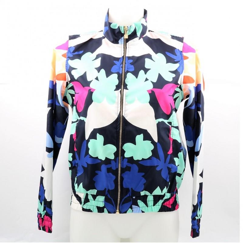 Margherita Maccapani Missoni's Floral Missoni Jacket
