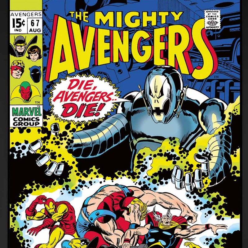 The Mighty Avengers #67 - Die, Avengers Die! - Boxed Canvas Edition