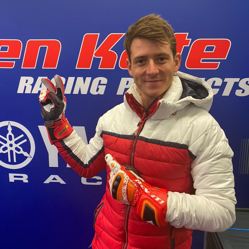 REV'IT Racing Gloves Personalized for Steven Odendaal