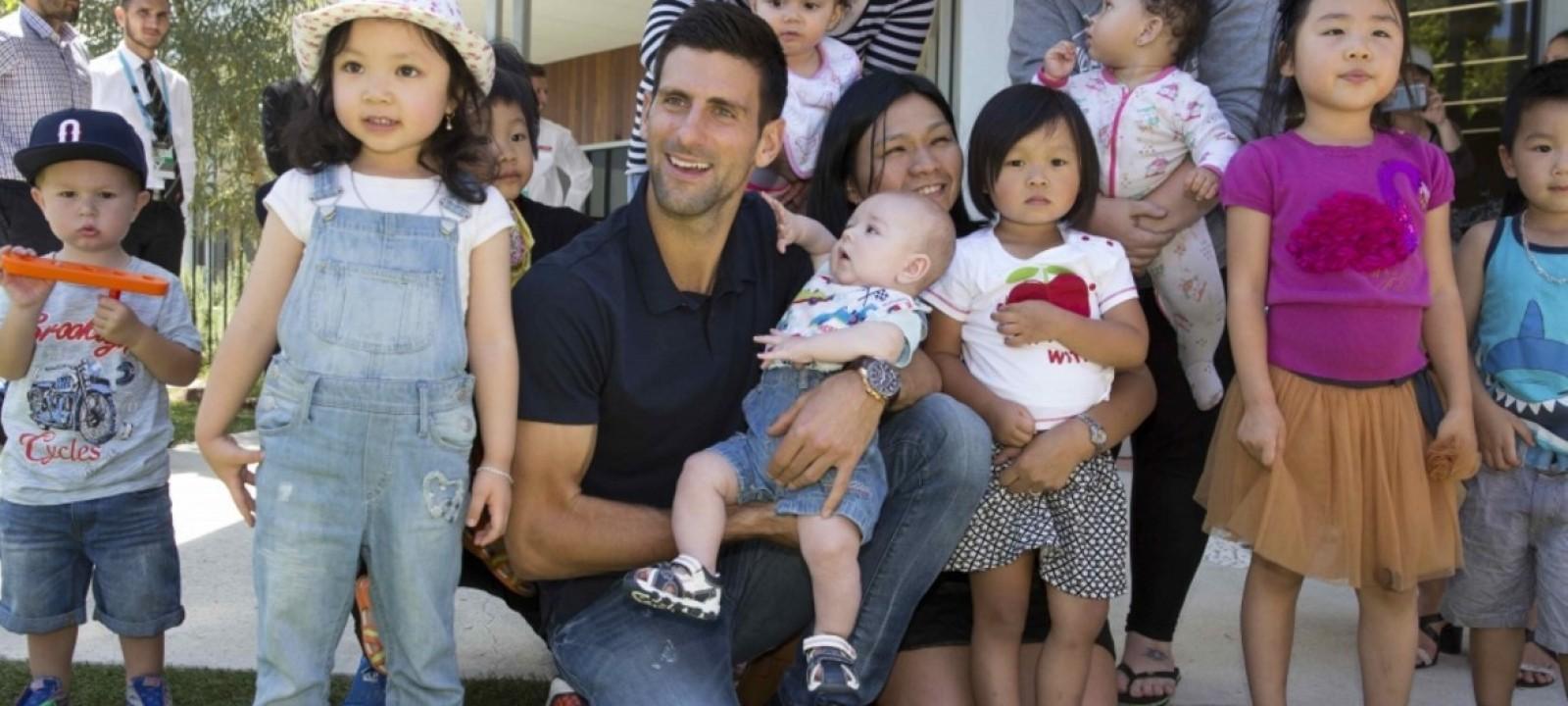 Novak Djokovic Foundation Charitystars