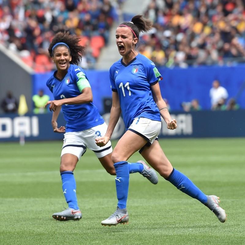 Bonansea's Match Shirt, Australia-Italy 2019