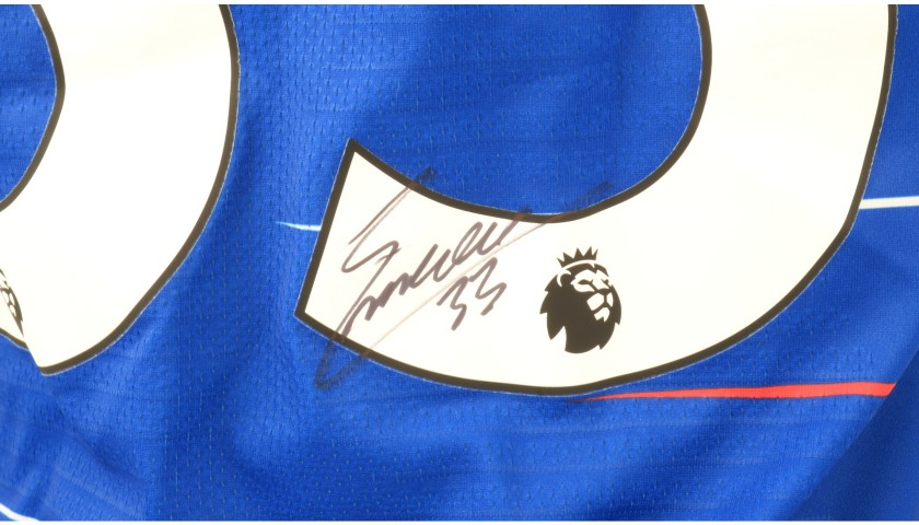 Emerson's Chelsea Match-issued and Signed Poppy Shirt