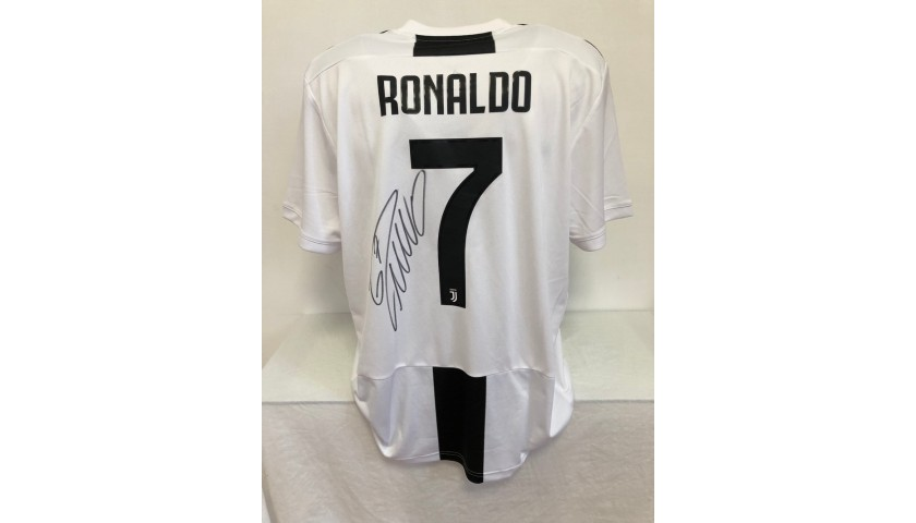 Ronaldo's Official Juventus Signed Shirt, 2018/19