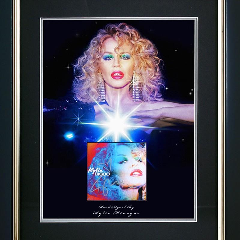 Kylie Minogue Signed Presentation