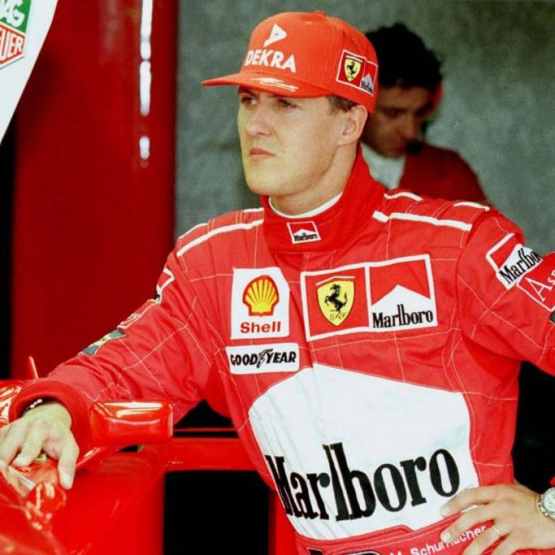 Official Ferrari Cap Signed by Michael Schumacher