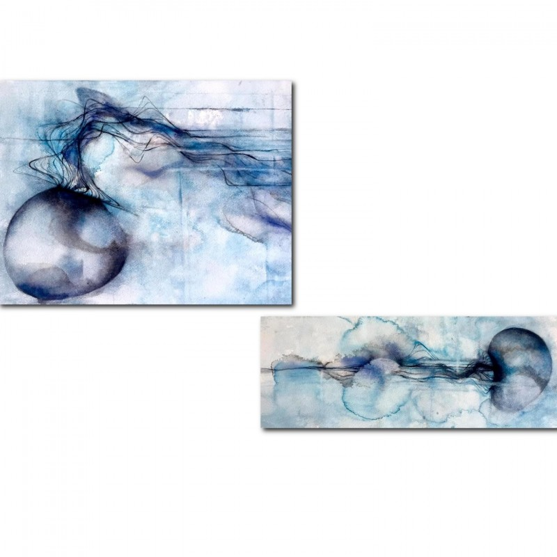 """Vana Imago"" Diptych by Iole Oliva"
