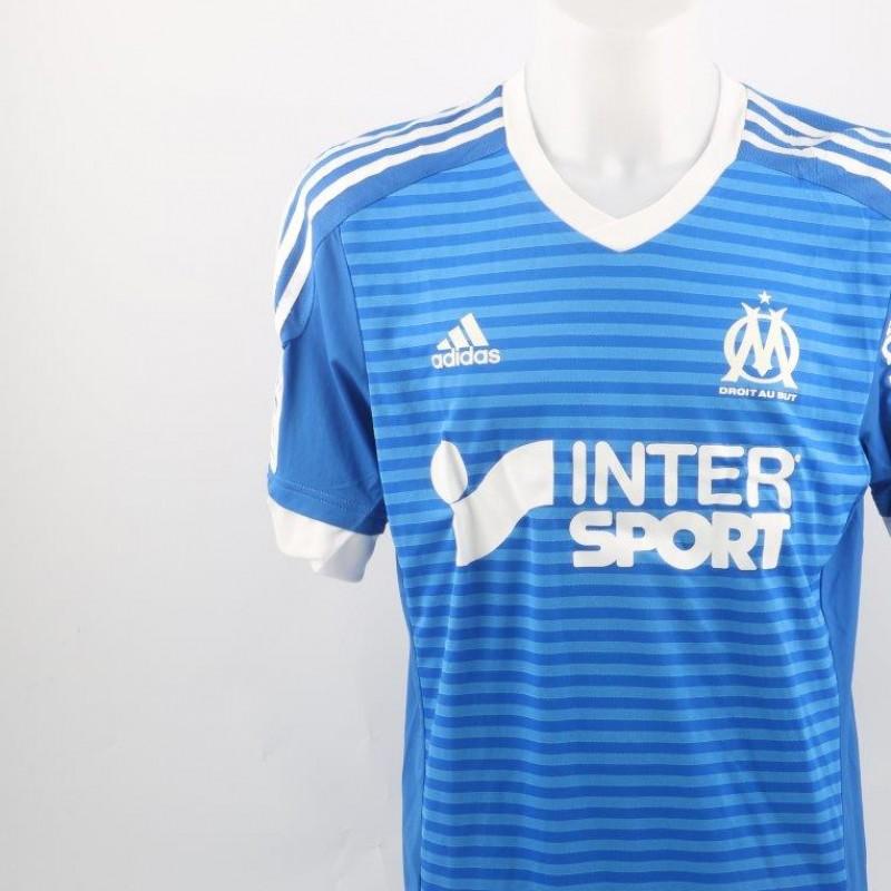Ocampos Marsiglia shirt, issued/worn Ligue 1 2015/2016