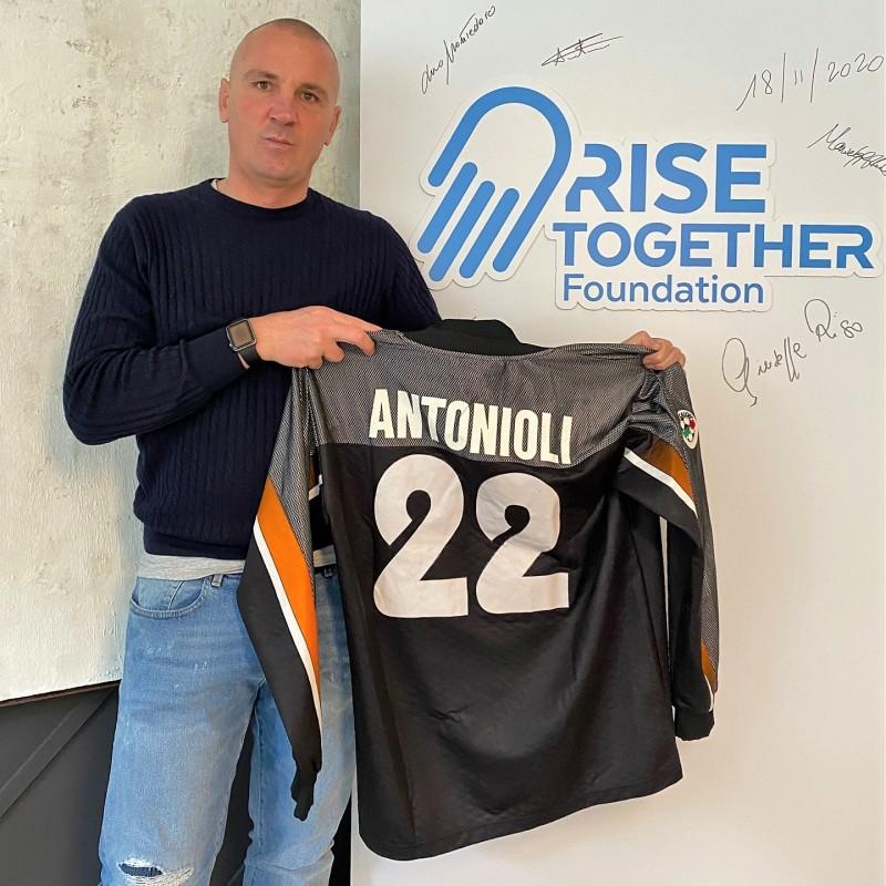 Antonioli's Roma Worn Shirt, 1999/00