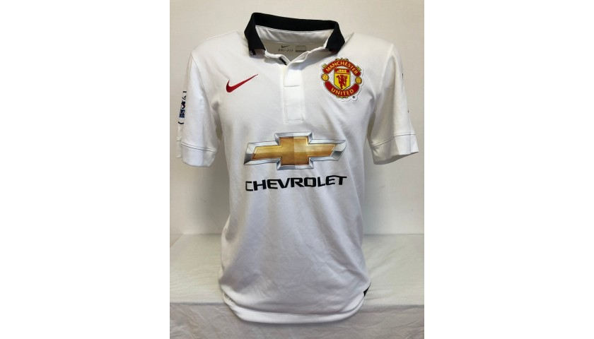 Van Persie's Official Manchester United Signed Shirt, 2014/15