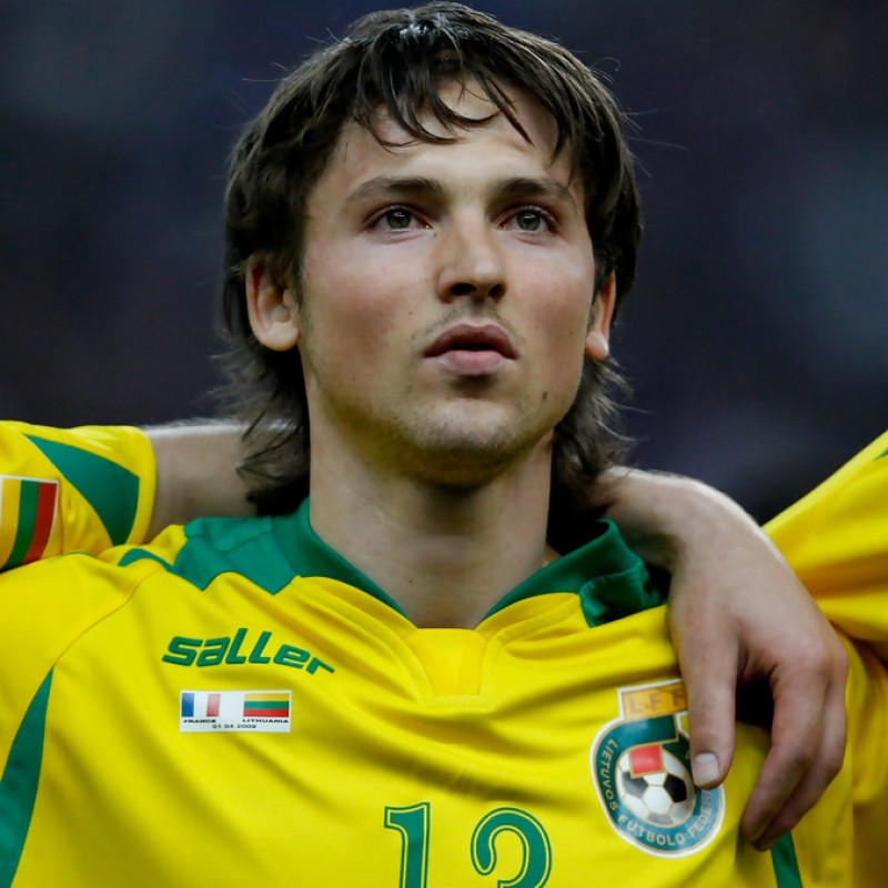 Mikoliunas' Worn Shirt, Lithuania-Italy 2007