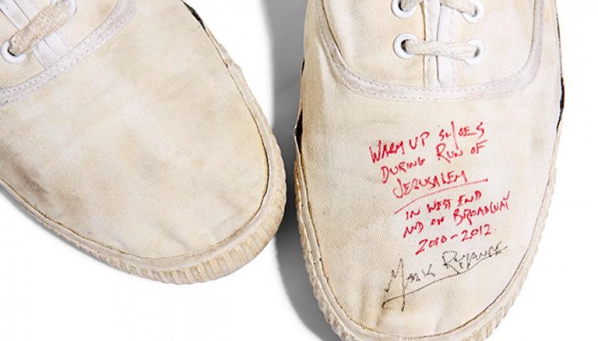 Mark Rylance's Autographed DEK Plimsoles