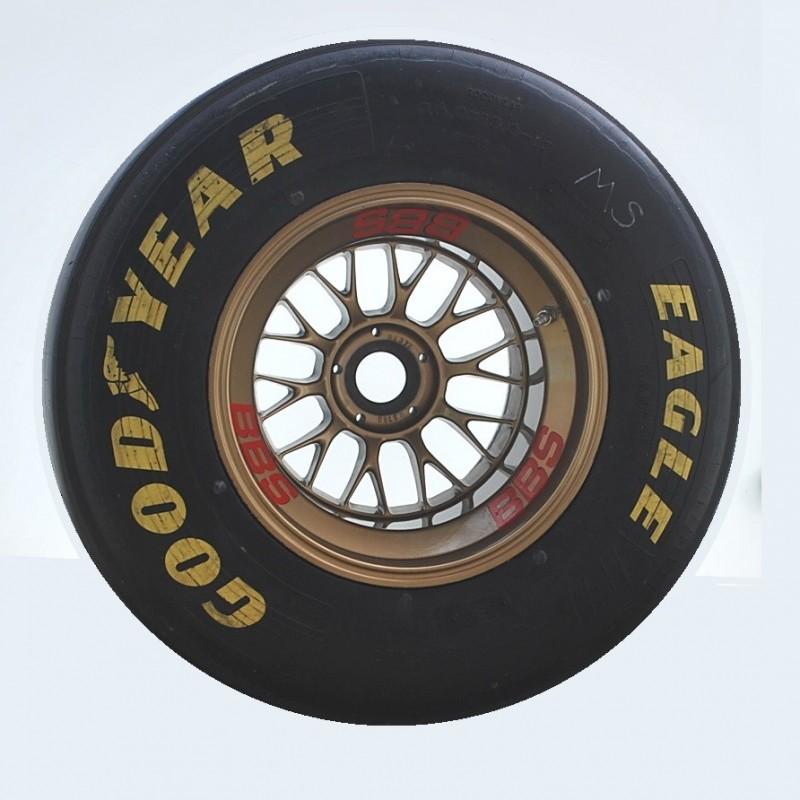 Original Ferrari F1 BBS Rear Wheel Coffee Table