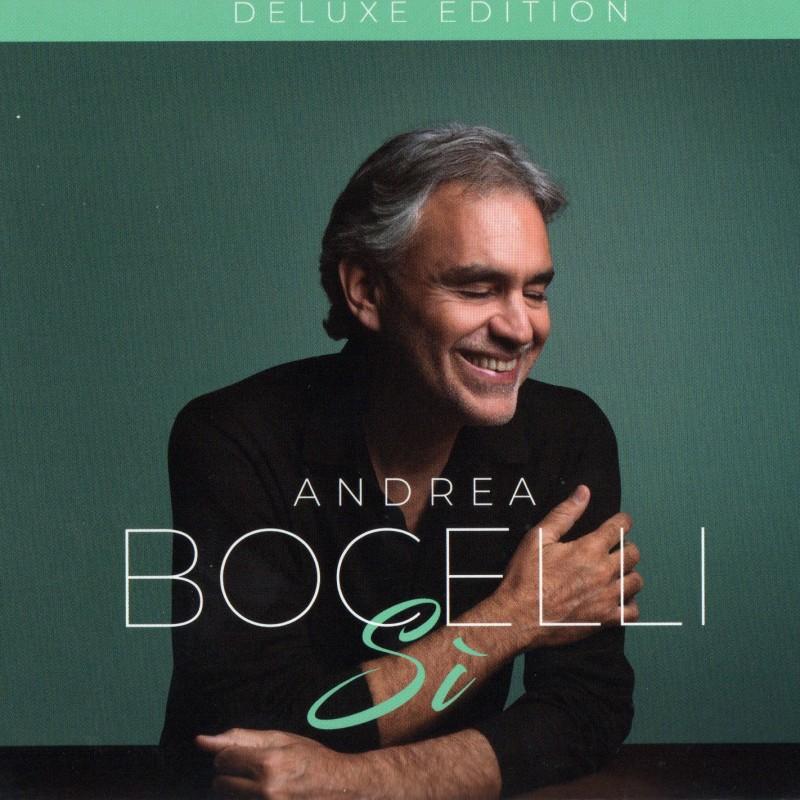 """""""Sì"""" Album Signed by Andrea Bocelli"""