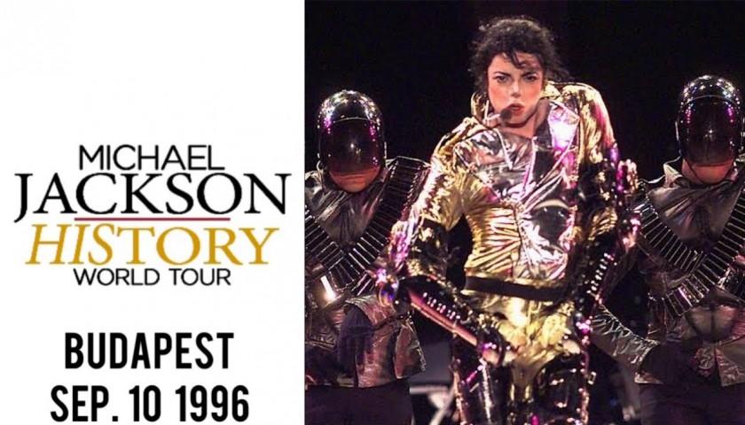 Michael Jackson's Worn Fedora - Budapest 1996