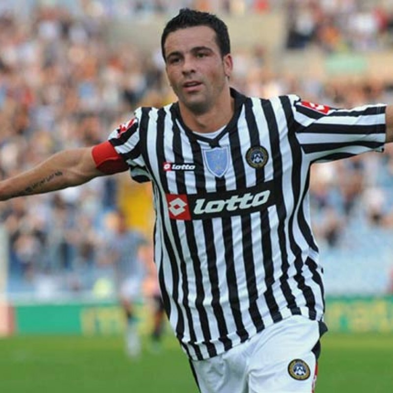 Official Udinese Shirt, 2008/09 - Signed by Di Natale