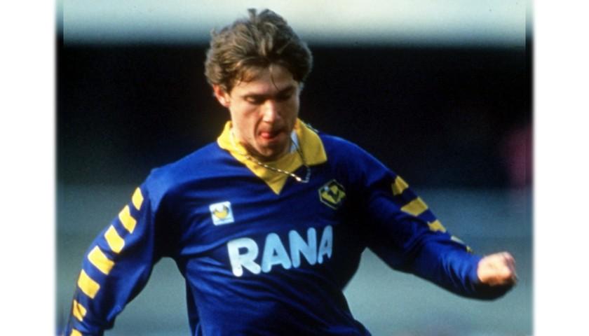 Magrin's Worn Shirt, Hellas Verona-Milan 1991