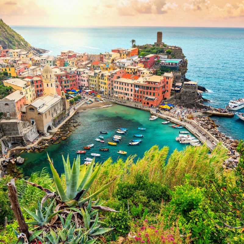 Yacht Cruise to Le Cinque Terre and Portofino