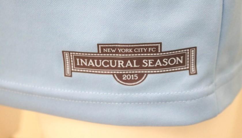 Pirlo's New York FC Match-Issue/Worn Shirt, 2015/16