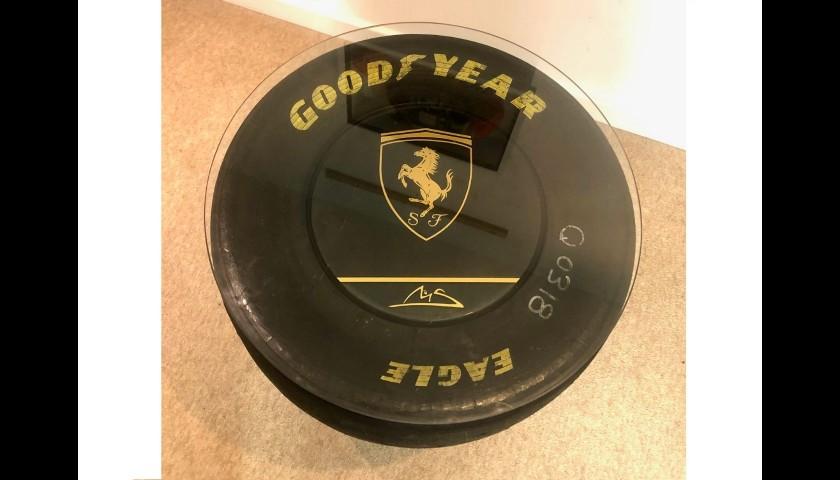 Ferrari 1997 Goodyear Coffee Table