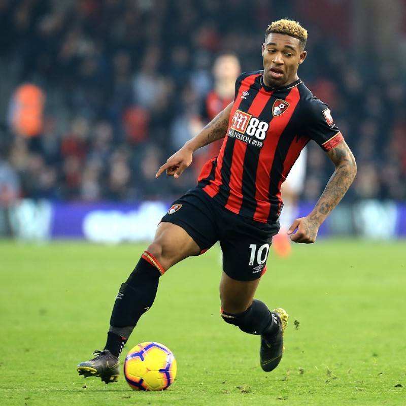 Ibe's Worn Shirt, Bournemouth-Man City 2019