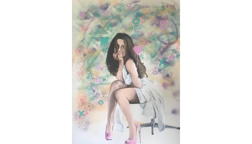"""Alyssa Milano"" by Ryan Neil"
