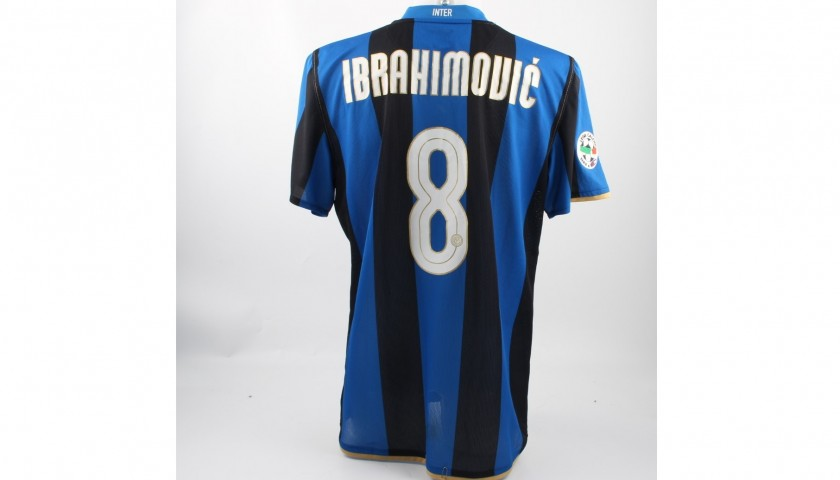 Ibrahimovic's Match-Worn Shirt, Inter-Siena 2008/09 Serie A