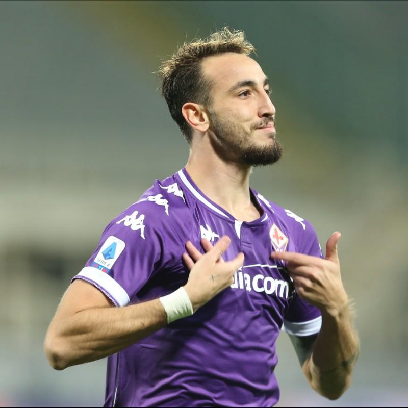 Castrovilli's Fiorentina Signed Match Shirt, 2020/21