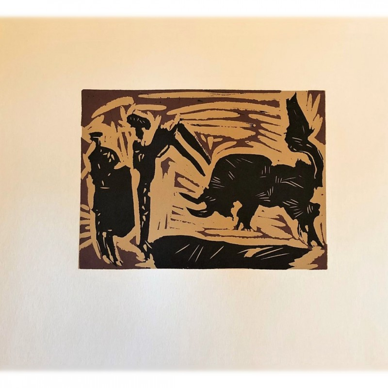 """""""Le Banderillas"""" - Pablo Picasso Print"""