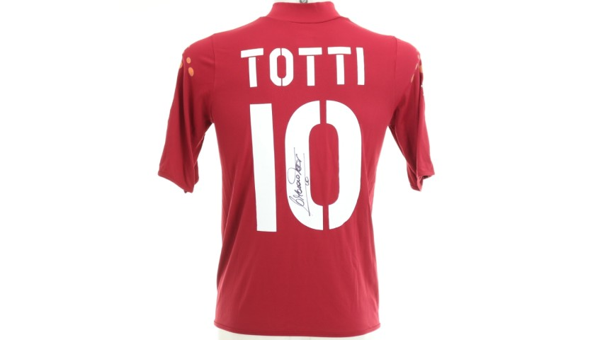 Totti's Official Roma Signed Shirt, 2003/04