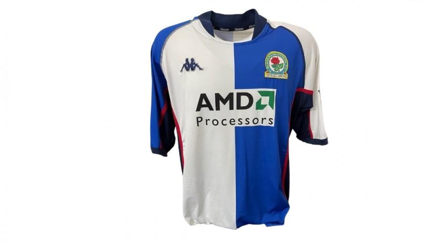 Cole's Blackburn Rovers Match Shirt, 2002/03