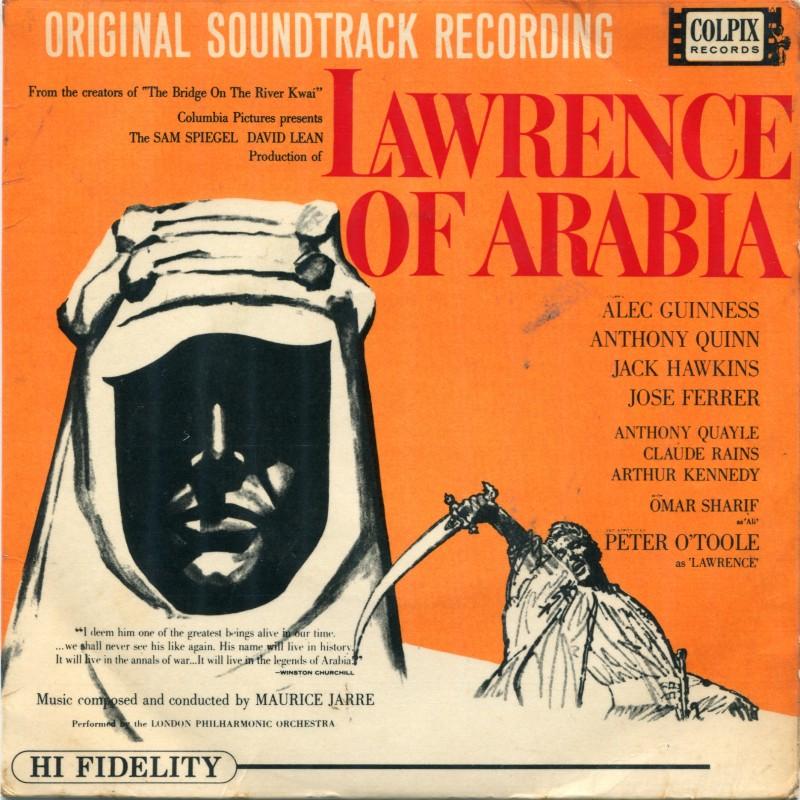 """Lawrence of Arabia"" Vinyl Single, 1963"