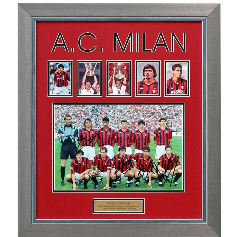 AC Milan Legends Signed Presentation