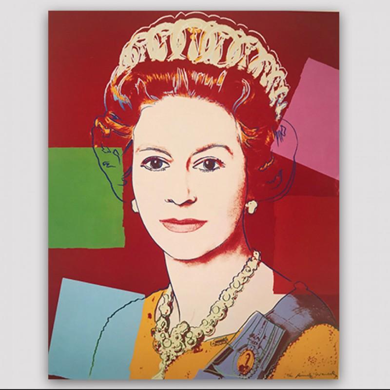 """Queen Elizabeth II 336"" by Andy Warhol"