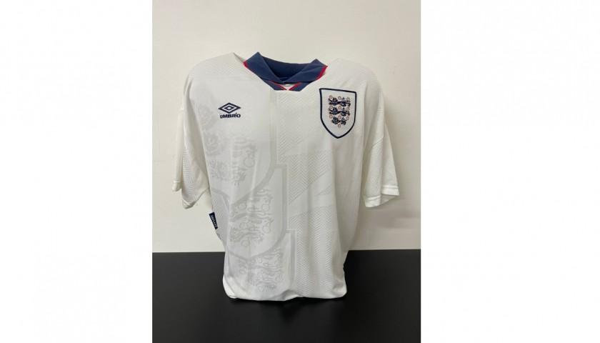 Gascoigne's Official England Signed Shirt, 1994