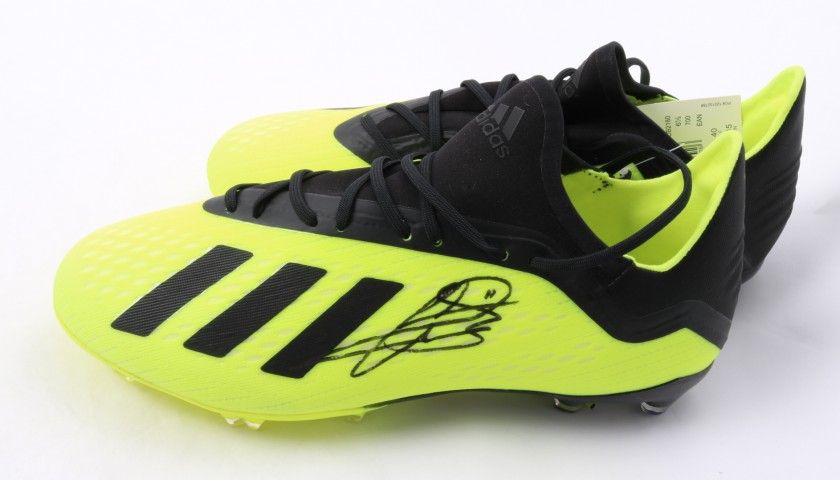 Adidas X 18.2 Boots Signed by Gareth Bale