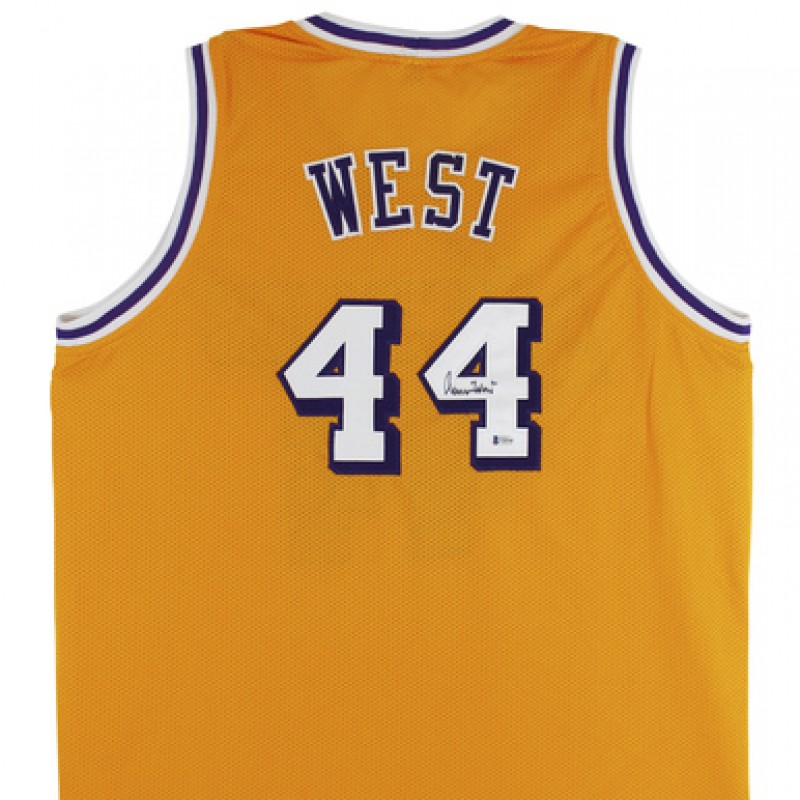 Jerry West Signed Jersey