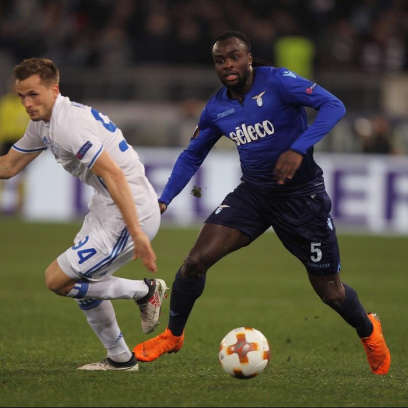 Maglia gara Lukaku, Lazio-Dinamo Kiev 2018