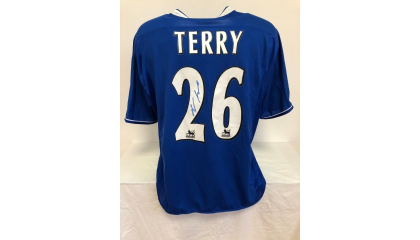 Terry's Official Chelsea Signed Shirt, 2003/04