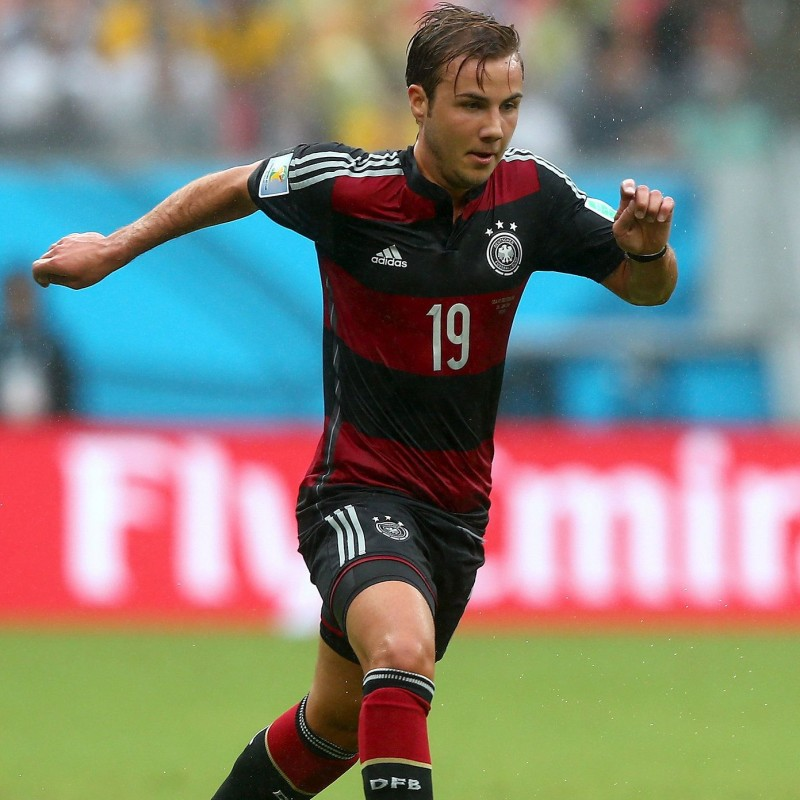Gotze's Match-Issued Shirt, Brazil-Germany 2014