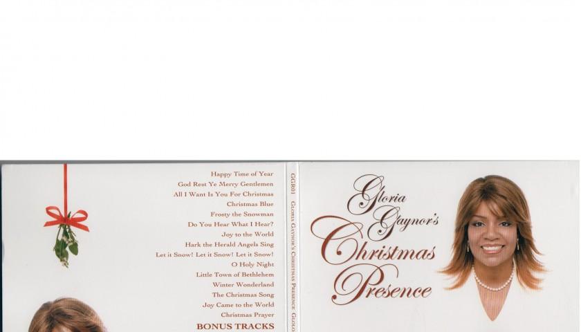 "Gloria Gaynor Signed CD ""Christmas Presence"""