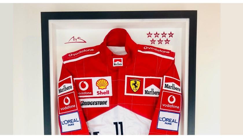 Michael Schumacher Ferrari Formula 1 Race Suit