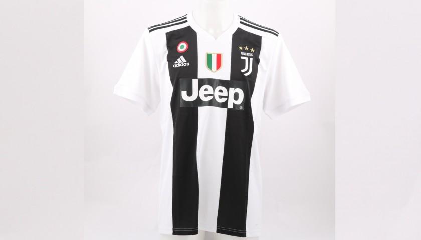 Bernardeschi's Official Juventus 2018/19 Signed Shirt