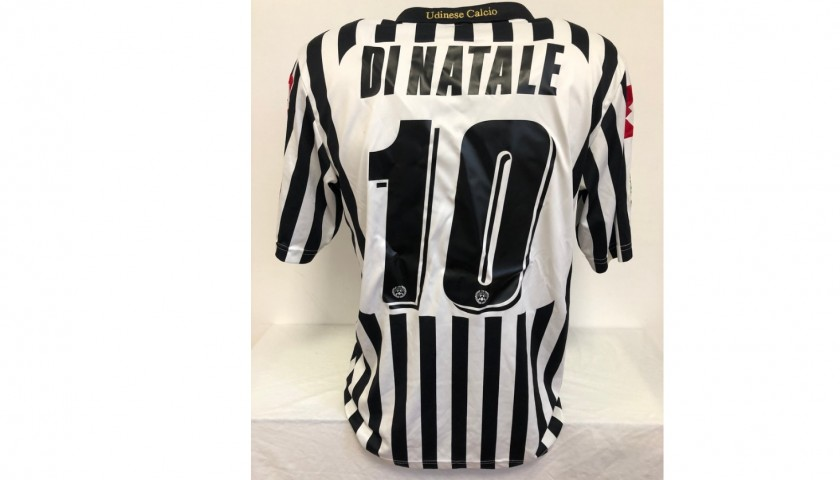 Di Natale's Udinese Match Shirt, 2008/09