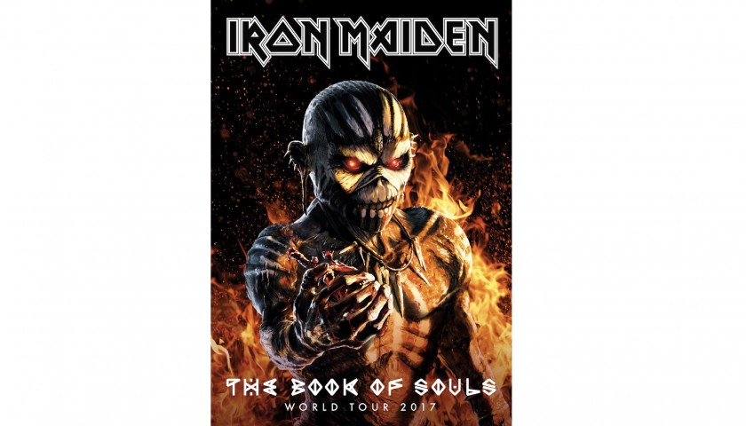 Iron Maiden The Book Of Souls Tour Bundle
