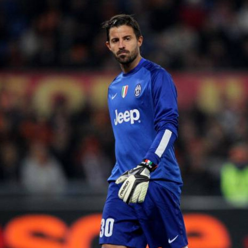 Storari's Match Shirt Juventus, 2013/14