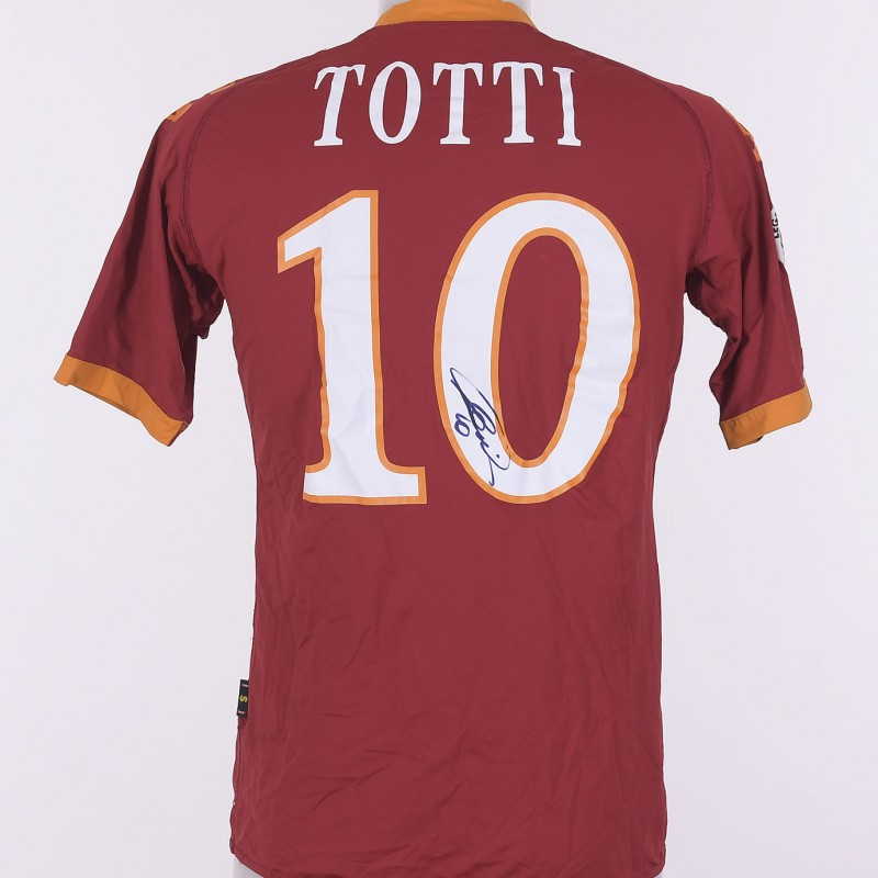 Francesco Totti's Signed Shirt, 2009/2010