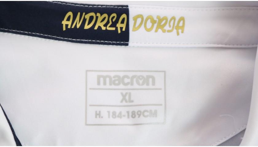 Ferrari's Worn Kit, Sampdoria-Milan 2020, SPECIAL 120 Years Andrea Doria