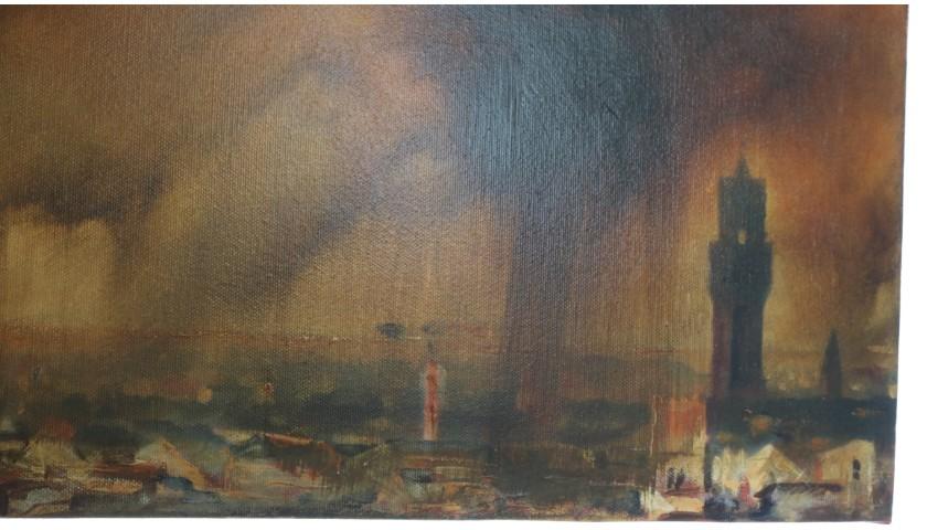 """""""L'alluvione di Firenze"""" by Antonello Arena"""