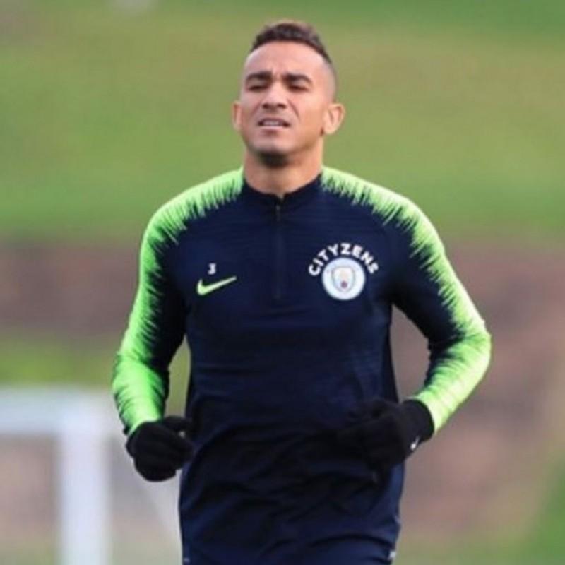 Danilo Silva Worn Technical Training Trousers